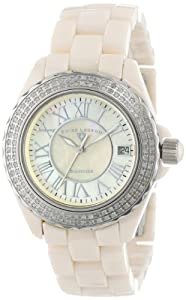 Swiss Legend Women's 20051-BGWSR Karamica Collection Diamond Beige High Tech Ceramic Watch
