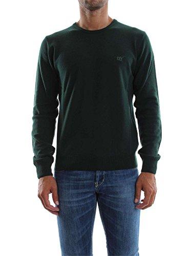 Maglia Uomo Henry Cotton's 90008 01 96654 Verde Autunno/Inverno Verde L