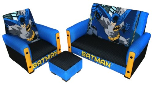 Review Warner Brothers Toddler Set, Batman