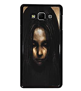 PrintDhaba Scary Girl D-5300 Back Case Cover for SAMSUNG GALAXY A8 (Multi-Coloured)