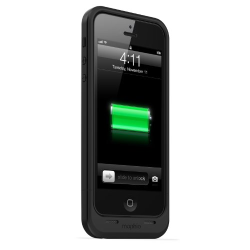 日本正規代理店品mophie juice pack air for iPhone 5 ブラック MOP-PH-000030