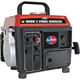 All Power America APG3004 1000-Watt 2-Cycle Gas Powered Portable Generator