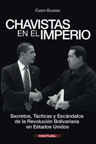 Portada del libro Chavistas en el Imperio de Casto Ocando