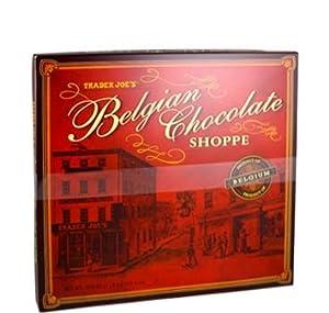 Trader Joe's Belgian Chocolate Shoppe Gift Box Assortment (36 Chocolates), 16.6 Ounces