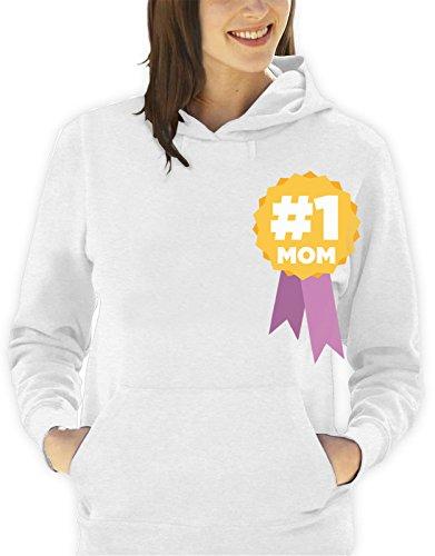 Sudadera-con-capucha-da-de-la-madre-Mom-number-one-mam-un-nmero-hombre-mujer-todas-las-tallas-S-M-L-XL-Camiseta-by-tshirteria-XXL-blanco-TallaSmall-donna