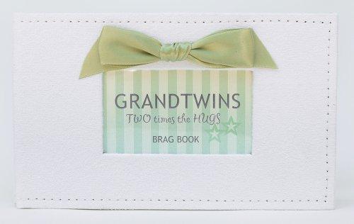 Twins Photo Album Brag Book (Grandtwins)