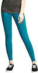 Anuze Fashions Peacock Cotton Lycra Ruby Design Legging