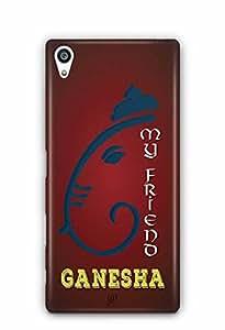 YuBingo My Friend Ganesha Designer Mobile Case Back Cover for Sony Xperia Z5 Premium