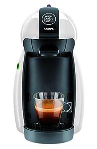 Krups KP 1002 Nescafé Dolce Gusto Piccolo - Cafetera, color blanco