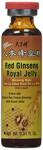 Rd Ginseng/Royal Jelly 30x10cc Chinese Red Ginseng (Royal Jelly Vials compare prices)