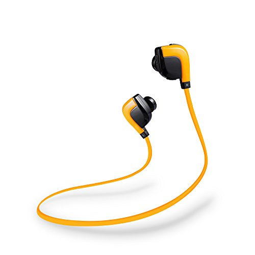 GLCON Sport & Bass Bluetooth Headphones With Microphone,True Stereo Long Battery Life Wireless