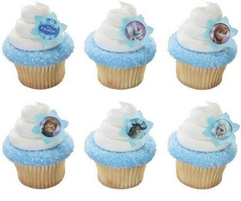 Decopac 24 Disney's Frozen Cupcake Rings