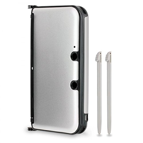 Hyperkin 3DS XL Aluminum Shell - Silver (Silver 3ds Xl Case compare prices)