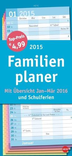 Familienplaner Basic 2015, Buch