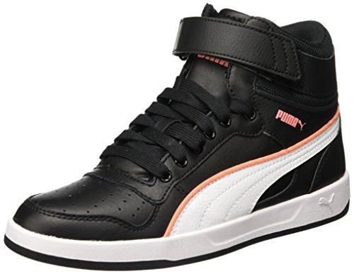 Puma  Liza Mid,  Sneaker donna nero Nero (Black/White) 37 EU