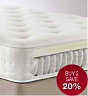 Memory Foam 1250 Mattress - Medium Support - 7 Day Delivery