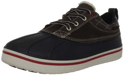 Crocs Mens AllCast Duck Shoe Lace-Up Flats