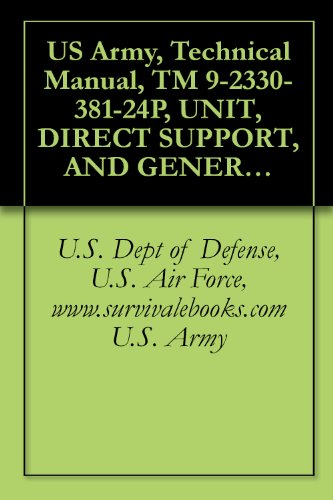 US Army, Technical Manual, TM 9-2330-381-24P, UNIT, DIRECT SUPPORT, AND GENERAL SUPPORT MAINTENANCE REPAIR PARTS AND SPECIAL TOOLS LIST FOR HEAVY EQUIPMENT