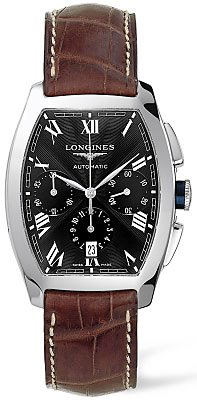 New Longines Evidenza Mens Watch L2.643.4.51.4