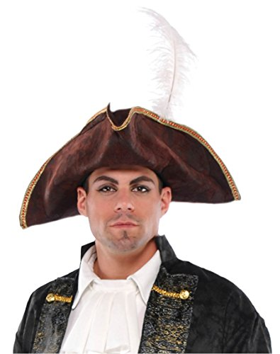 Standard Costume Accessory Pirate Tricorn Hat