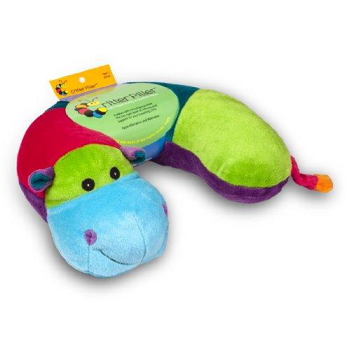 Critter Piller Kid s Neck Pillow, Bright Hippo Animals Pet Supplies Pet Supplies Pet Biometric ...