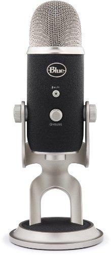 Blue Microphones Yeti Pro USB Condenser Microphone, Multipattern.