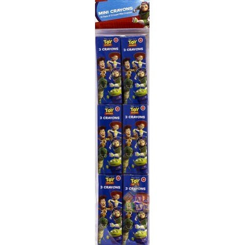 Toy Story 3 3pack Crayon Packs (12ct) - 1