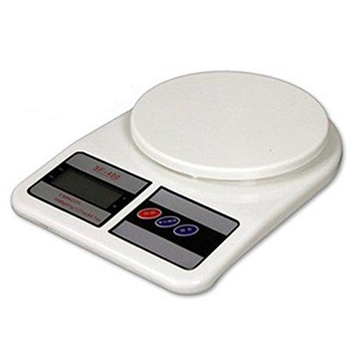 Piggy2Gether- Backlight Screen Digital Portable Kitchen Scale Food Diet Postal Scale, 7Kg/1G