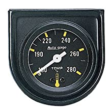 Auto Meter 2352 Autogage Mechanical Water Temperature Gauge