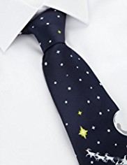 Machine Washable Snowman Theme Tie
