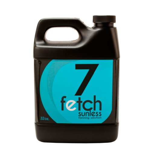 Fetch Sunless Spray Indoor Tanning Airbrush Solution 7% Dha Dark Formula 32Oz front-975432