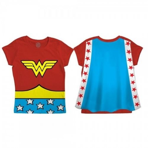 DC Comics Wonder Woman Logo Toddler's Cape T-Shirt