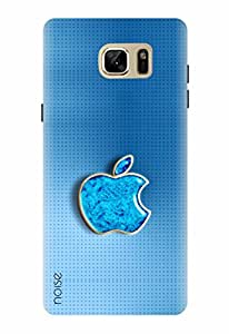 Noise Designer Printed Case / Cover for Samsung Galaxy Note7 / Patterns & Ethnic / Blue Apple