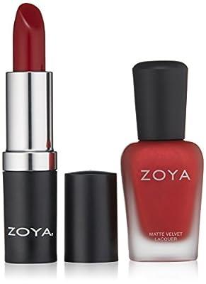 ZOYA Nail Polish, Midnight Kiss Lips & Tips Duo, 1 fl. oz.