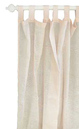 New Arrivals Whipser Linen in Soft Pink Curtain Panels