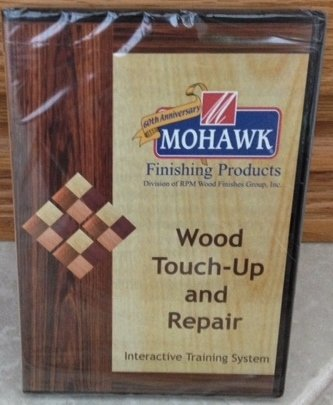 Wood Touch-Up and Repair Interactive Training System