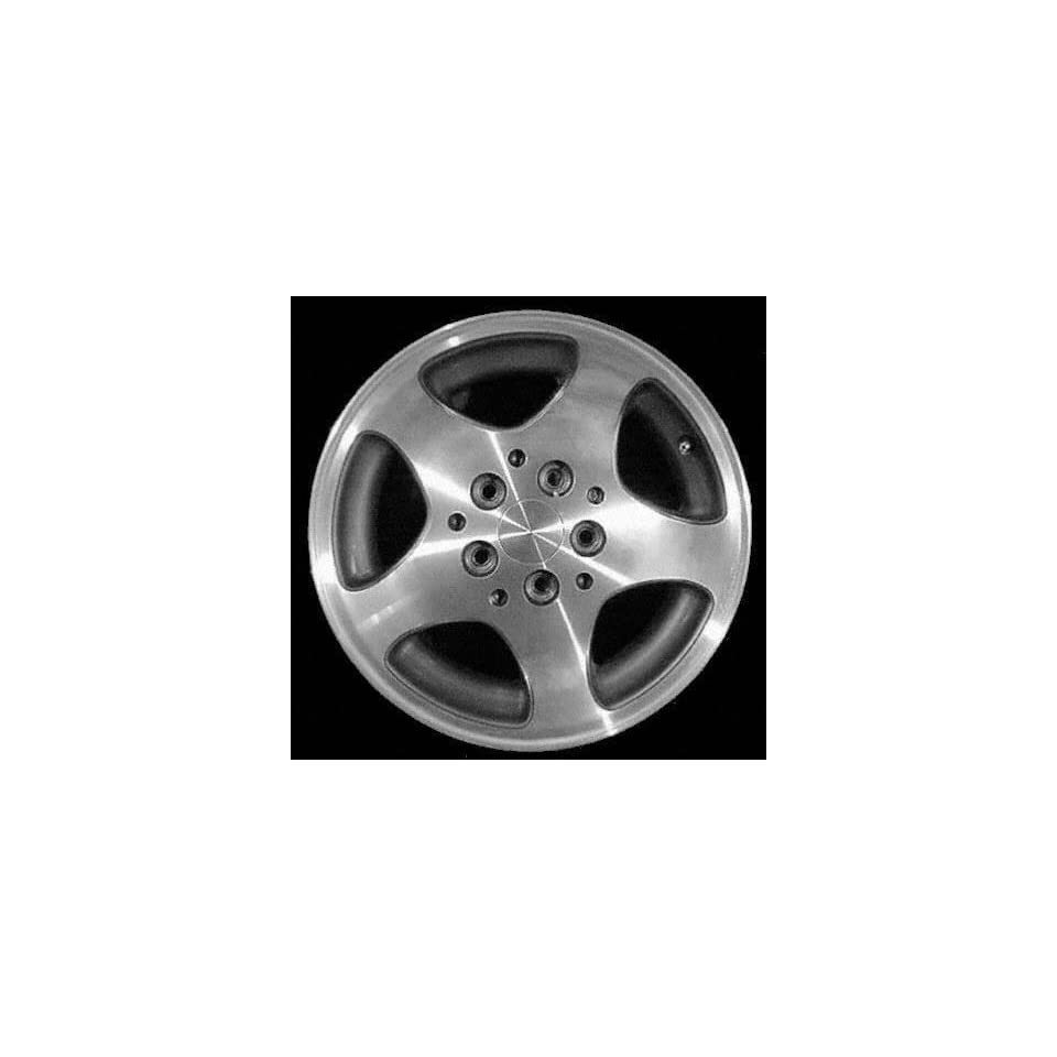 96 98 JEEP GRAND CHEROKEE ALLOY WHEEL RIM 15 INCH SUV, Diameter 15, Width 7 (5 SPOKE), CHROME, 1 Piece Only, Remanufactured (1996 96 1997 97 1998 98) ALY09014U85