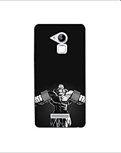 coolpad note 3 lite nkt01 (91) Mobile Case by Mott2 - Muscular Body Cartoon -... (Limited Time Offers,Please Check the Details Below)