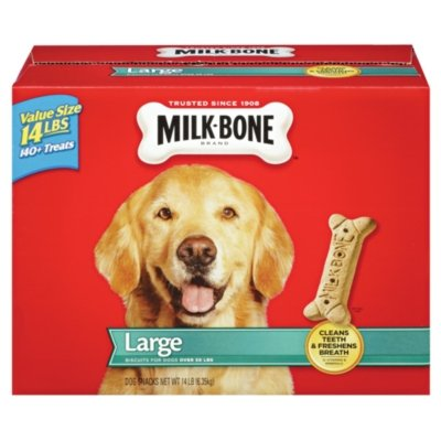 Milk-Bone Large Dog Biscuits - 14lbs