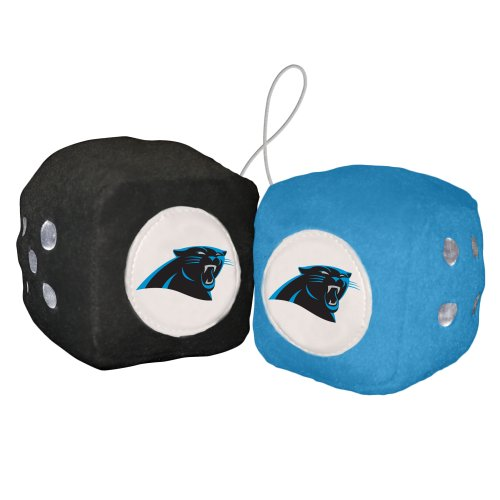 Review Of NFL Carolina Panthers Fuzzy Dice