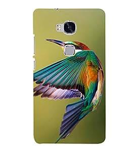 EPICCASE King Fisher Bird Mobile Back Case Cover For Huawei Honor 5X (Designer Case)