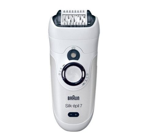 Braun Wet And Dry Epilator front-633143