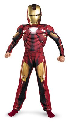Iron Man Mark VI Classic Muscle Chest - Large