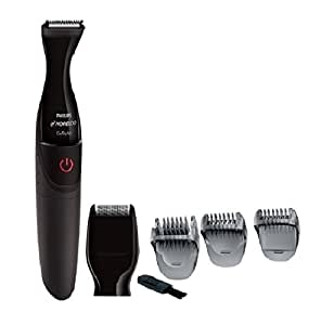 norelco waterproof cordless facial men 39 s shaver and hair trimmer grooming kit with. Black Bedroom Furniture Sets. Home Design Ideas