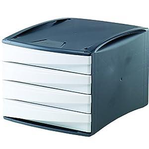 g2desk bloc de bannettes tiroirs pour dessus de bureau bleu fournitures de bureau. Black Bedroom Furniture Sets. Home Design Ideas