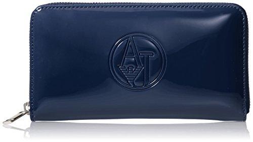 Armani Jeans Shoes & Bags De - 05V32Rj, Portafoglio da donna, blu (blu - blue 50), 19x11x2 cm (B x H x T)