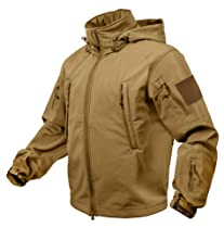 ROTHCO SPECIAL OPS TACTICAL SOFTSHELL JACKET - COYOTE - M