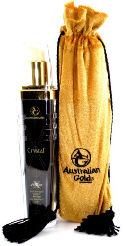 AUSTRALIAN GOLD CRYSTAL X 7OZ TANNING LOTION BRONZER