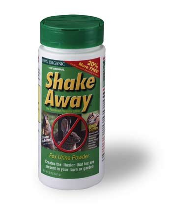 Shake Away 3004503 Small Animal Repellent – Fox Urine Granules, 3 lbs.