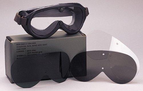 10350 Genuine GI Sun Wind & Dust Goggles